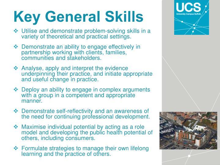 Key General Skills
