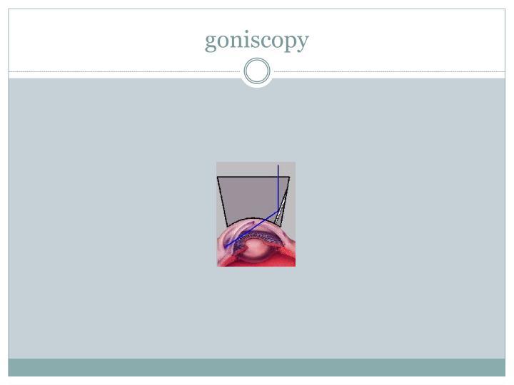 goniscopy