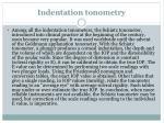indentation tonometry
