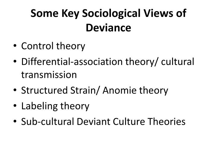 differential connections possibility sociology deviance essay