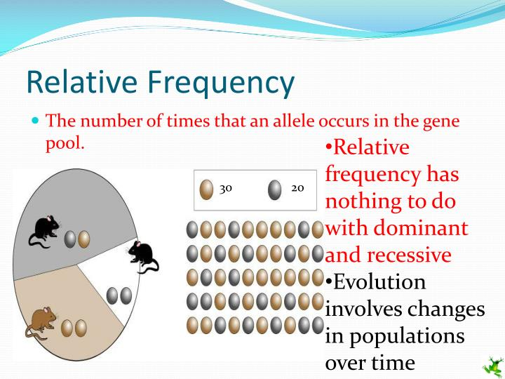 relative frequency Relative frequency of an outcome is found using the below formula relative frequency = number of successful trialstotal number of trialsonce the relative frequency is known it is easier to estimate the probability of a particular outcome if there are more trials then the probability estimate will be more accurate.