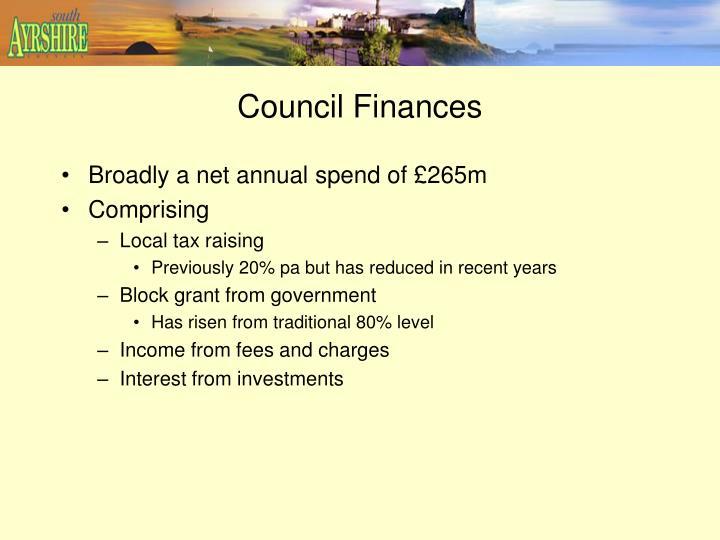 Council Finances