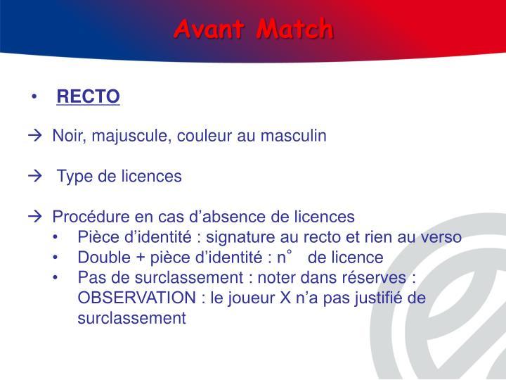 Avant Match