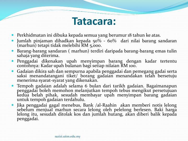 Tatacara