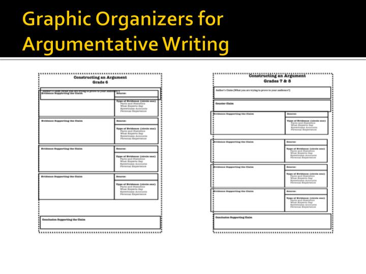 Graphic Organizers for