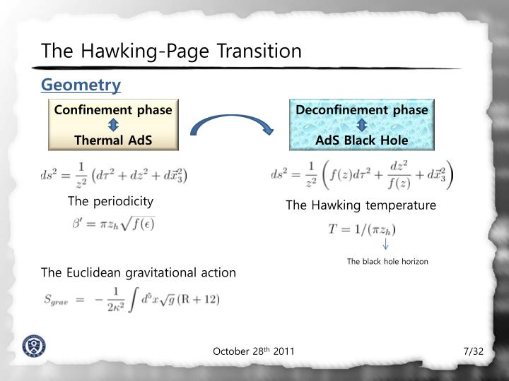 The Hawking-Page Transition