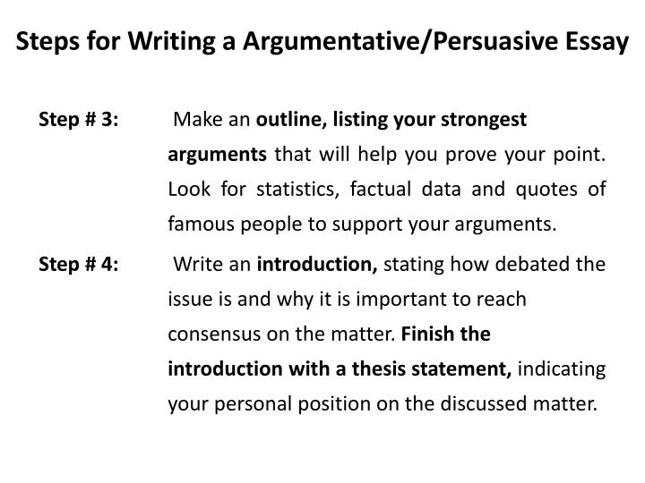 powerpoint on persuasive writing