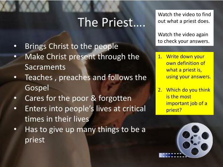 The Priest….