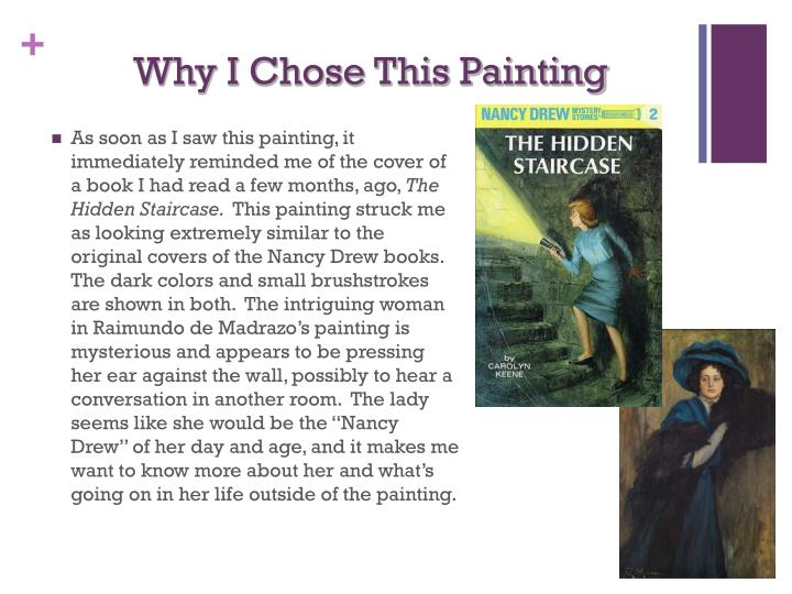 Why I Chose This Painting