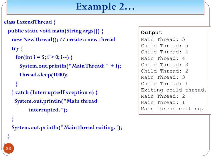 Example 2…
