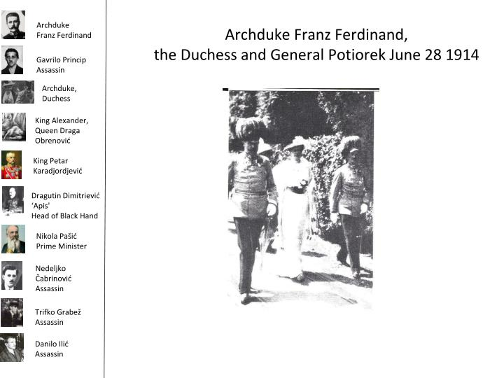 Archduke Franz Ferdinand,
