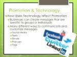 promotion technology