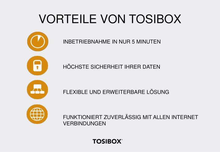 VORTEILE VON TOSIBOX