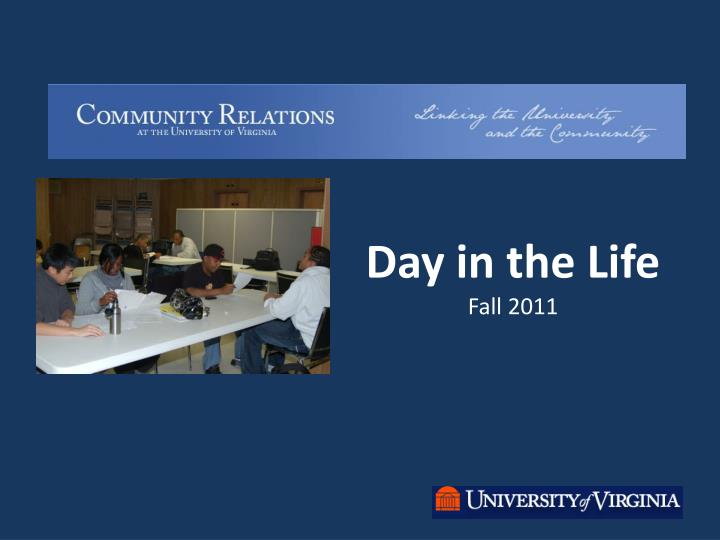 day in the life fall 2011