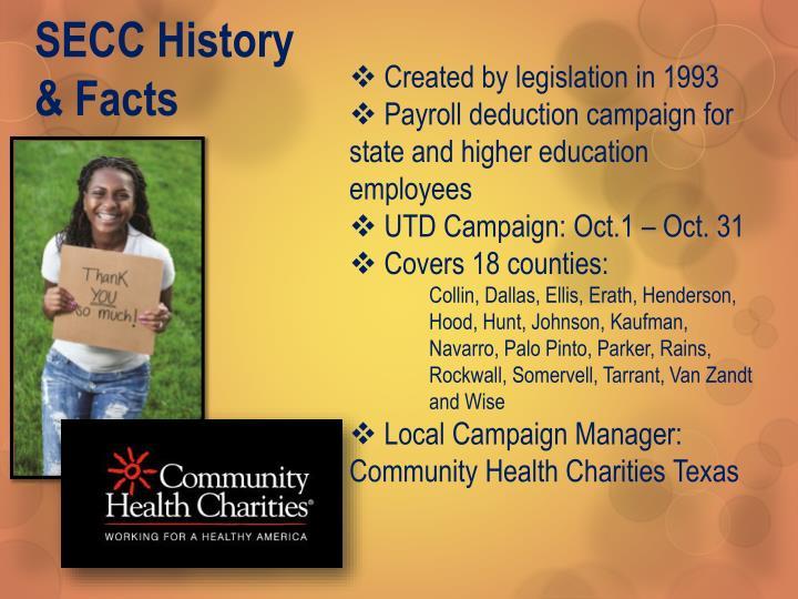 SECC History & Facts