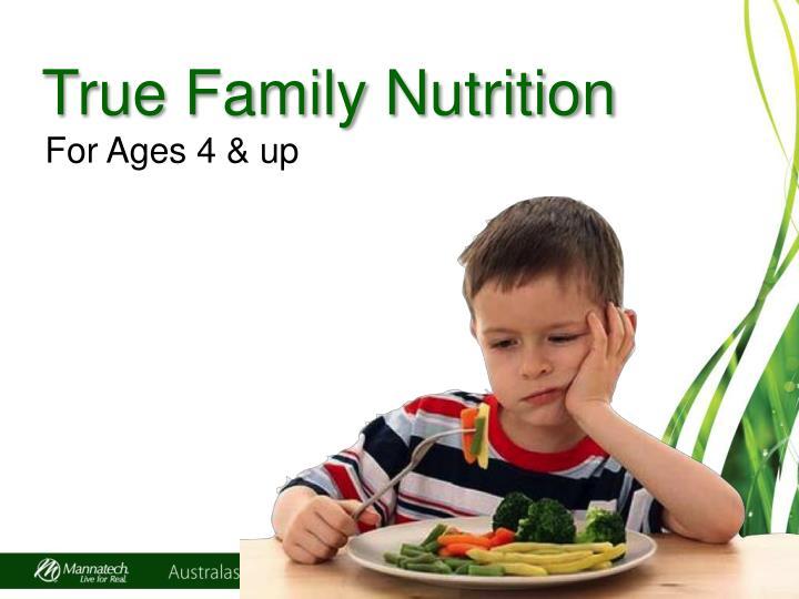 True Family Nutrition
