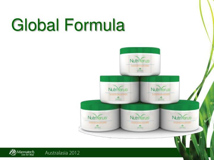 Global Formula