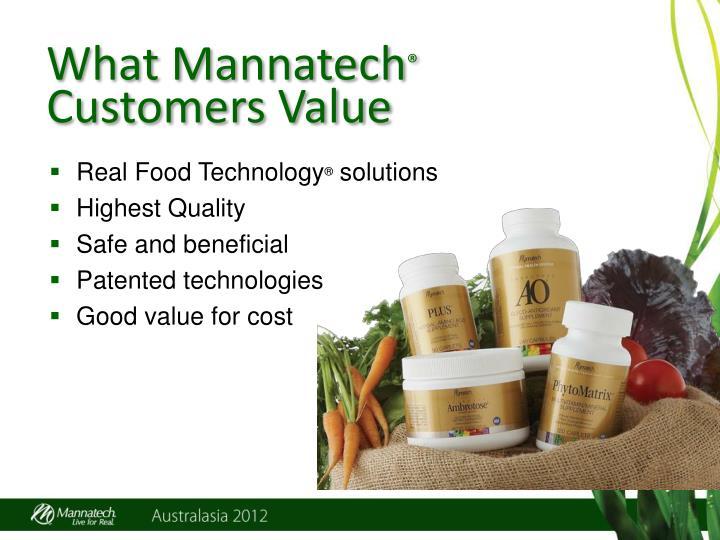 What Mannatech