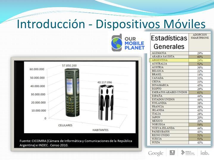 Introducción - Dispositivos Móviles