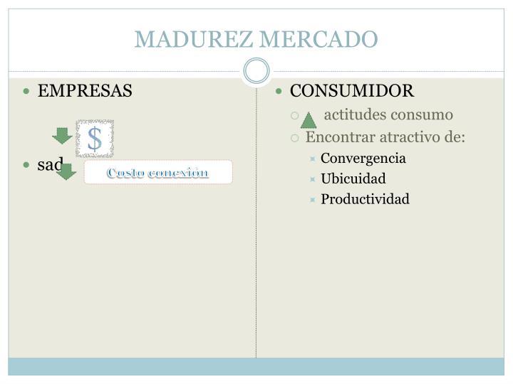 MADUREZ MERCADO