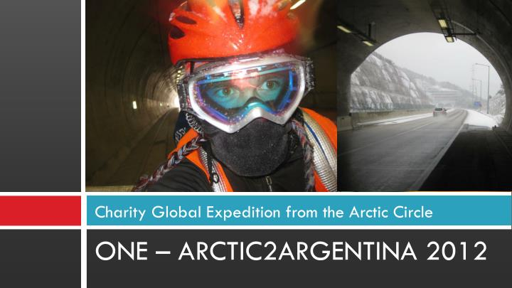 Charity Global Expedition from the Arctic Circle