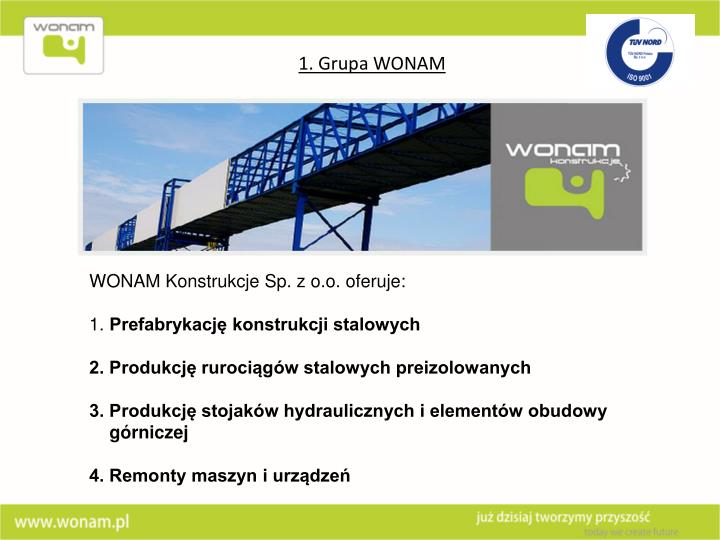 WONAM Konstrukcje Sp. z o.o.