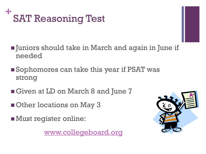 SAT Reasoning Test