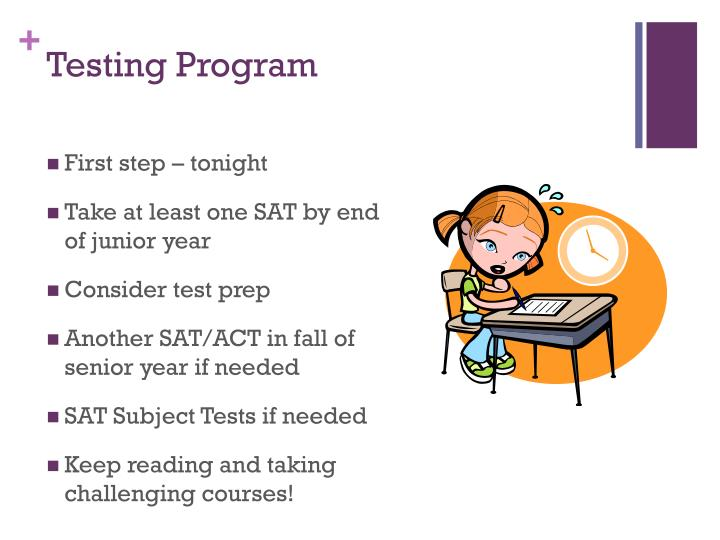 Testing Program