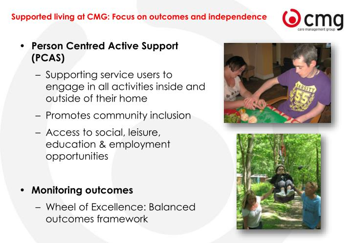 Person Centred Active Support (PCAS)