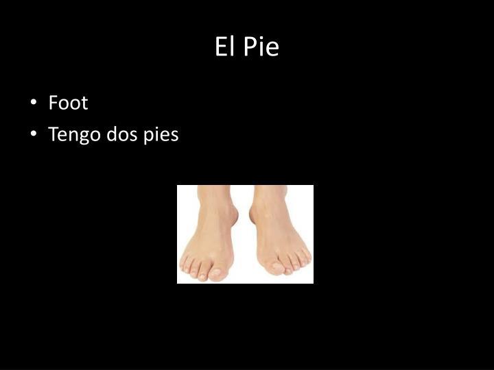 El Pie