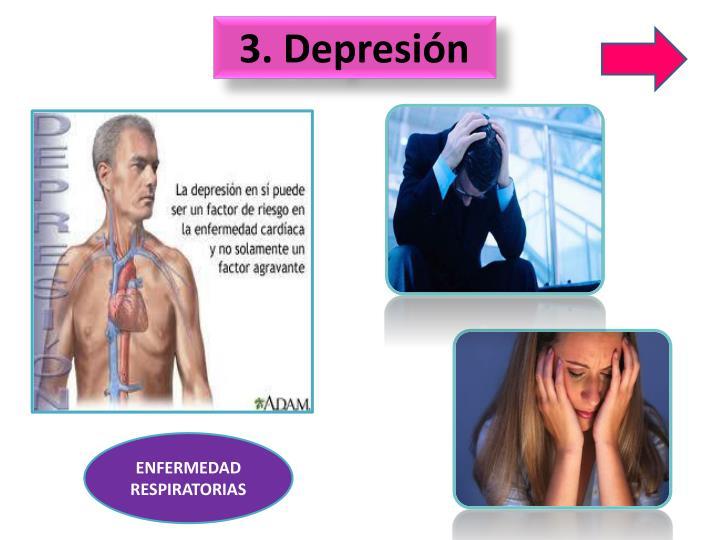 3. Depresión