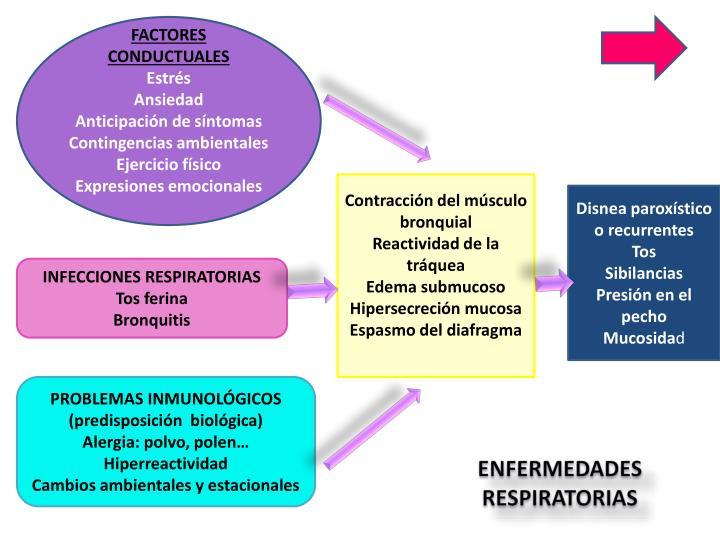 FACTORES CONDUCTUALES
