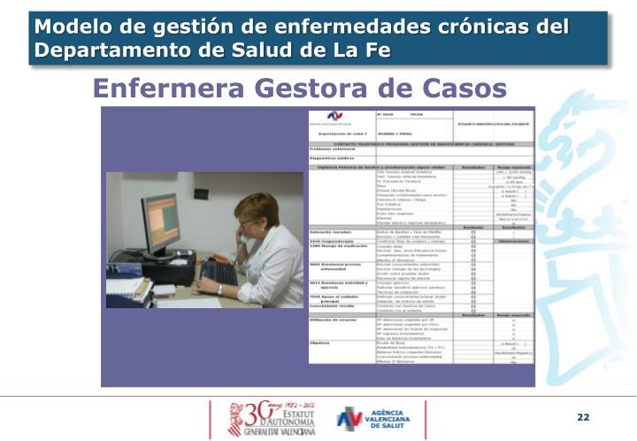 Modelo de gestión de enfermedades crónicas del