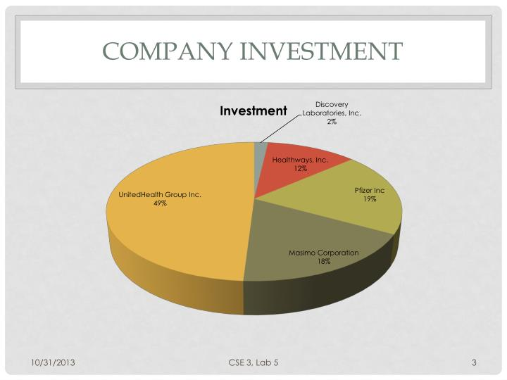 Company Investment