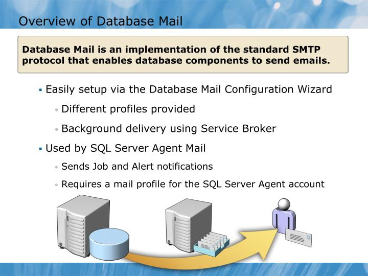 Overview of Database Mail