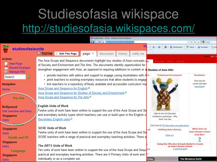 Studiesofasia wikispace
