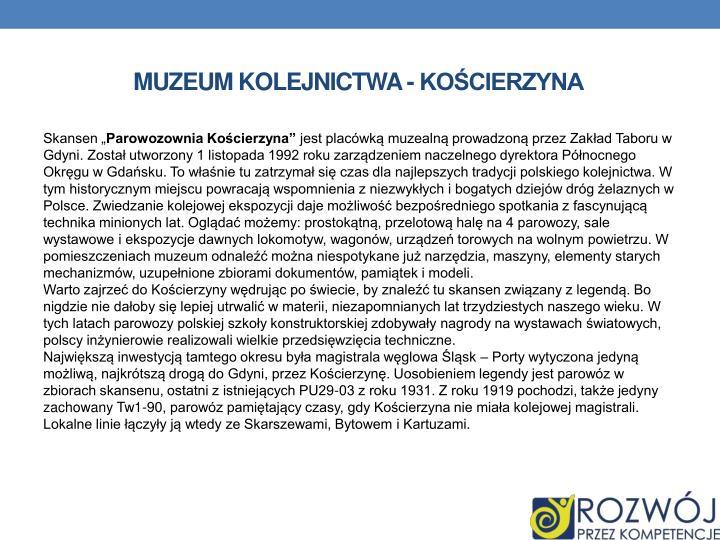 Muzeum kolejnictwa -
