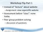workshop flip part 1
