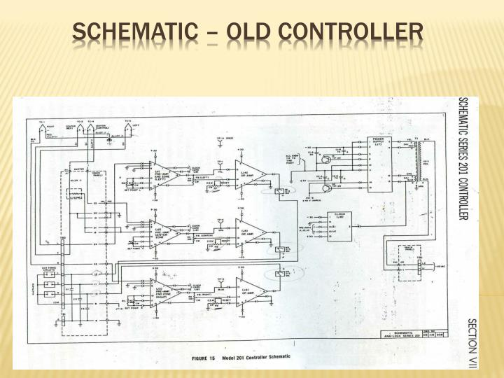 Schematic – Old Controller