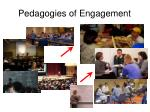 pedagogies of engagement
