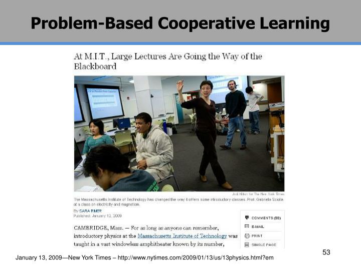 Problem-Based Cooperative