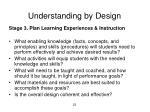 understanding by design1