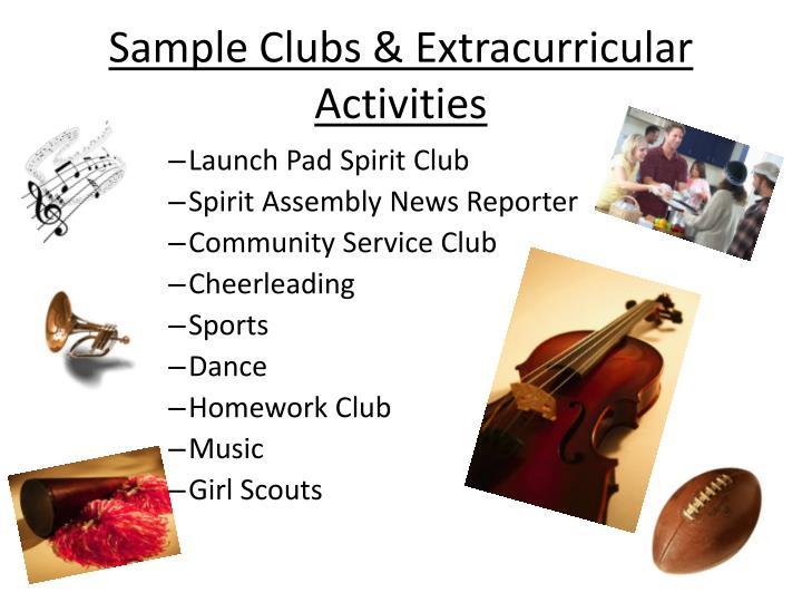 Sample Clubs
