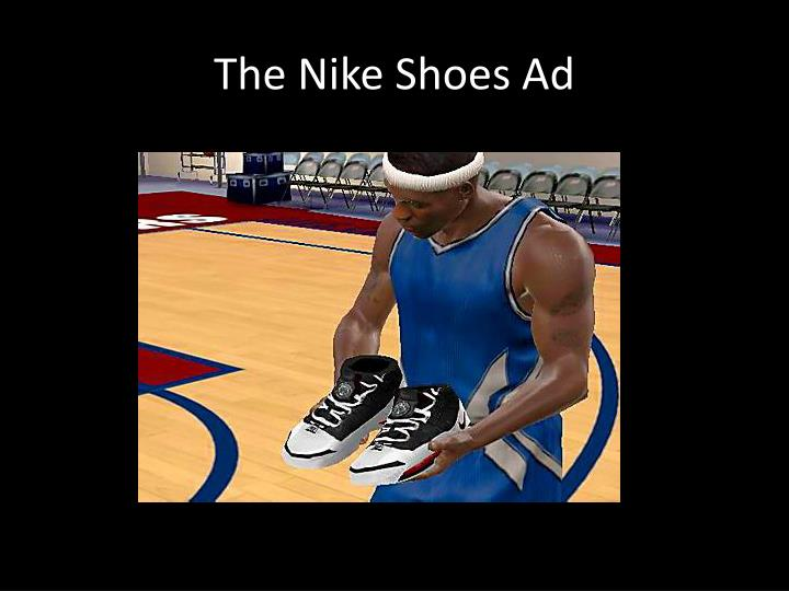 The Nike Shoes Ad