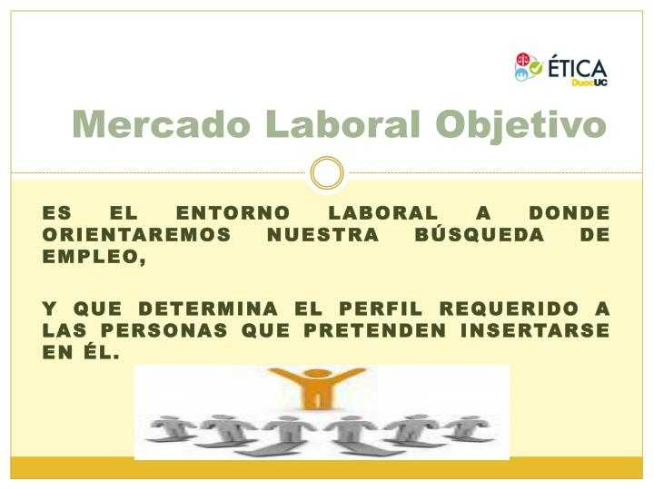 Mercado Laboral Objetivo