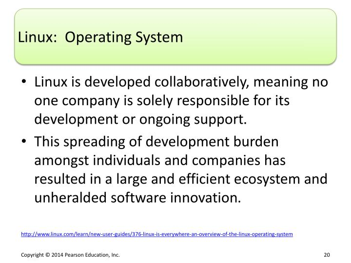 Linux:  Operating System