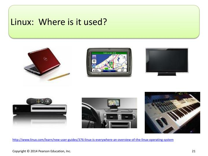Linux:  Where is it used?
