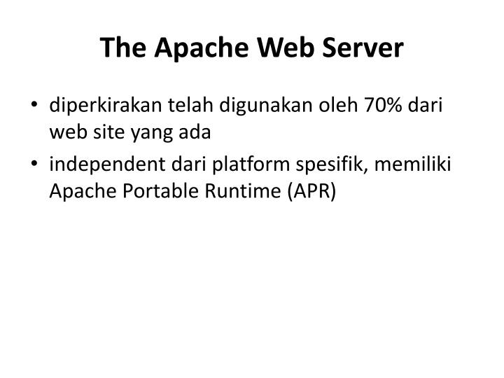 The Apache Web