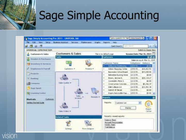 Sage Simple Accounting