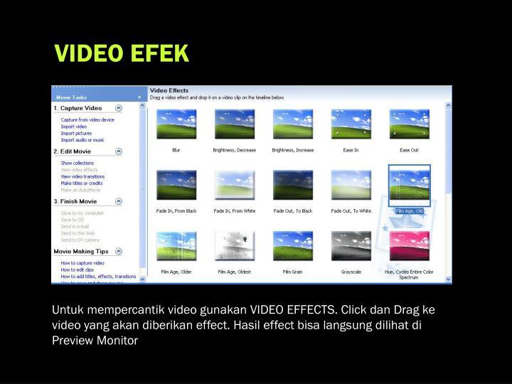 VIDEO EFEK